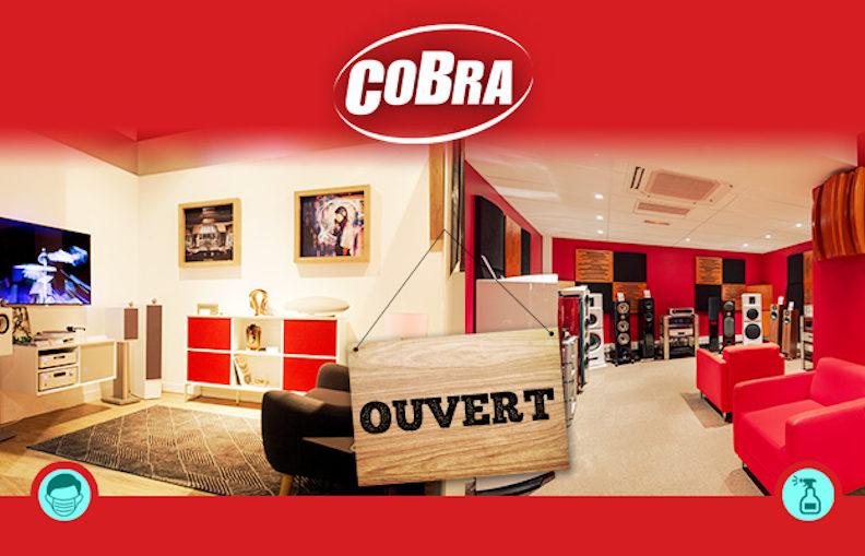 Les 3 magasins Cobra sont ouverts !