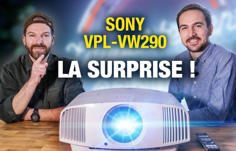 Retrouvez le Sony VPL-VW290 sur la Cobra TV