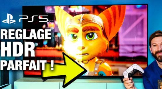 Réglages HDR Ratchet & Clank PS5