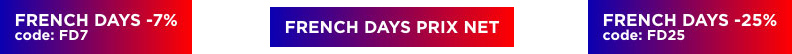 French Days 2021 : jusqu'à 25% de remise supplémentaire sur des centaines de produits Image & Son